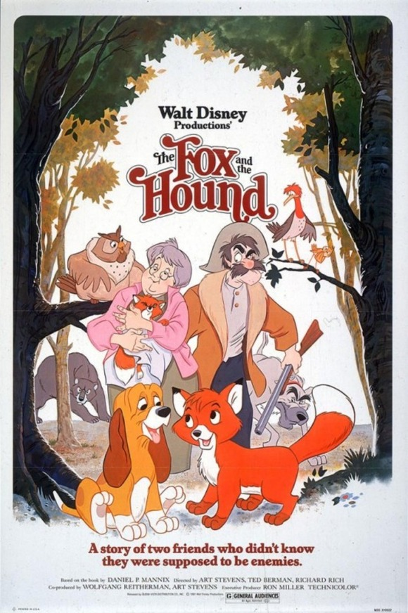 1981-The-Fox-and-the-Hound-Poster-532x800