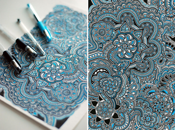 intricate-pen-drawing-floral-pattern-mikiverevikim-2