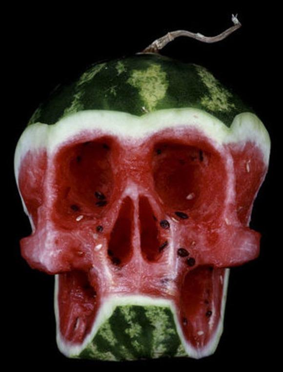 SkullWatermelon