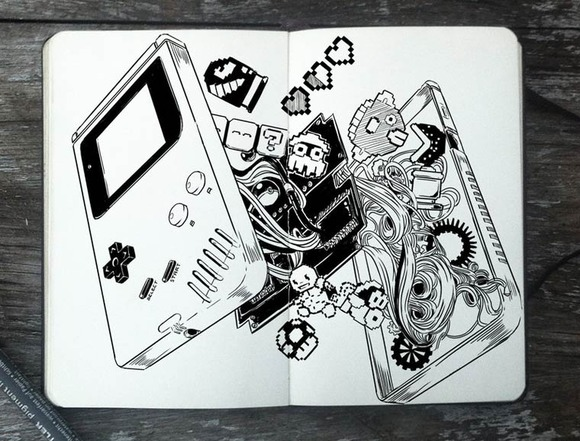 365-Days-Of-Doodles-Gabriel-Picolo-17