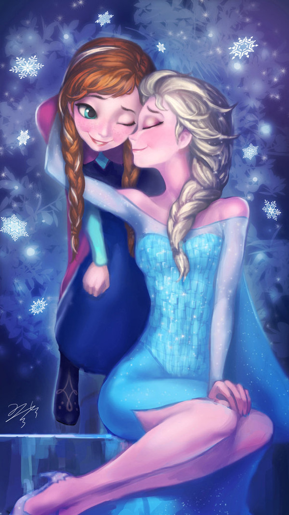 frozen_elsa_with_anna_by_pmo0908-d74cyes