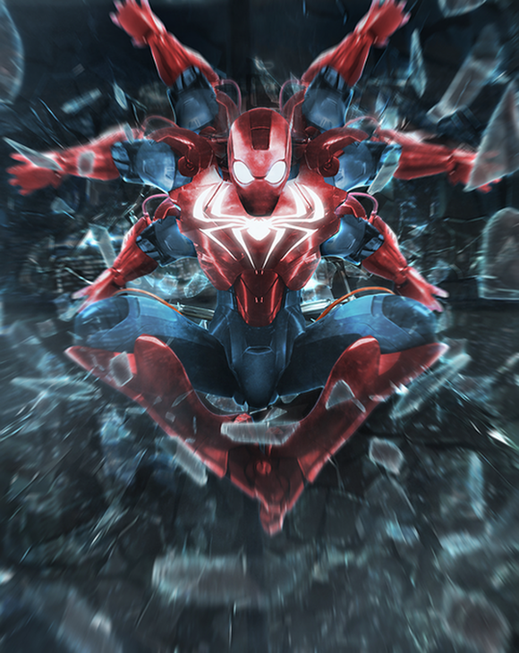 Insane-Iron-Man-mash-up-by-BossLogic-Spider-man