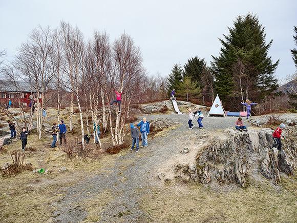 Utheim Skole, Karvag, Averoy, Norway