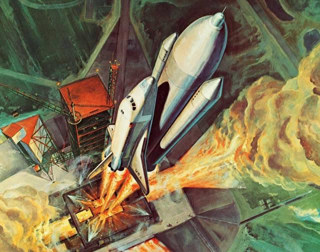 space shuttle concept art 2