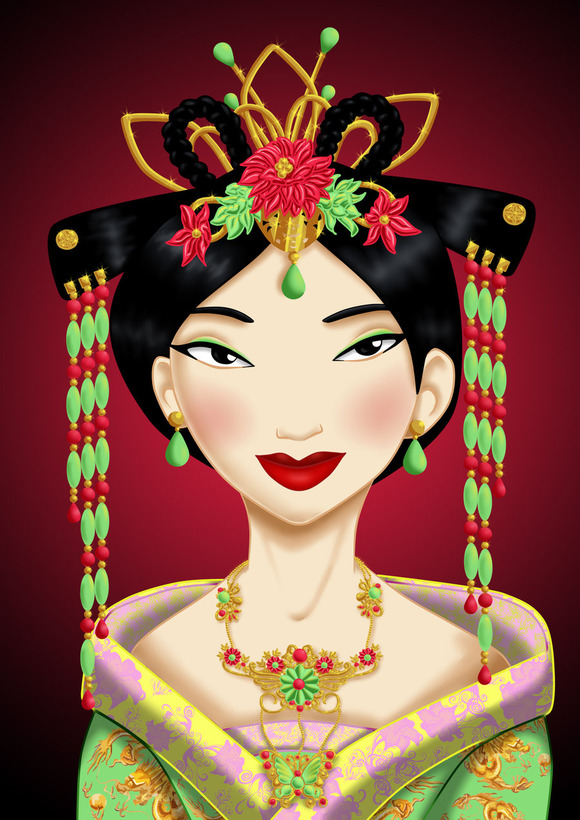 royal_jewels__mulan_by_missmikopete-d5kla7o
