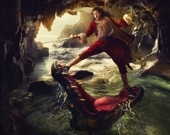Russell Brand as Captain Hook