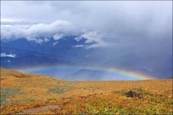 inside rainbow