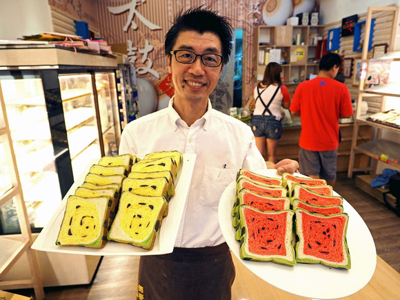 square-watermelon-bread-jimmys-bakery-taiwan-4
