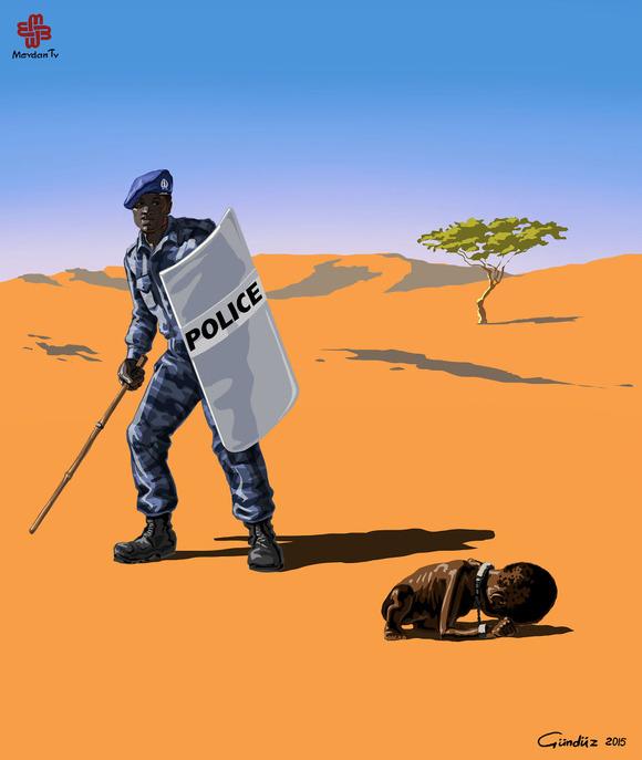 Police in Sudan
