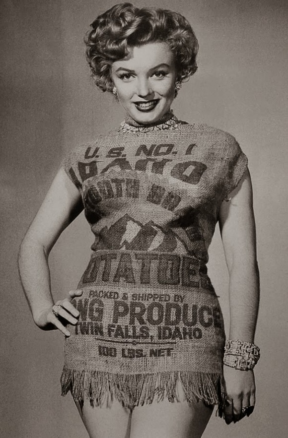 Marilyn and the Potato Sack Dress, c (5)