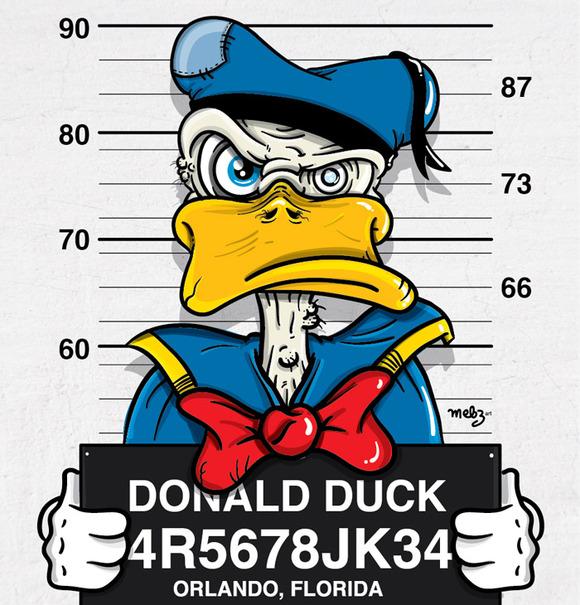 donald-duck-mugshot