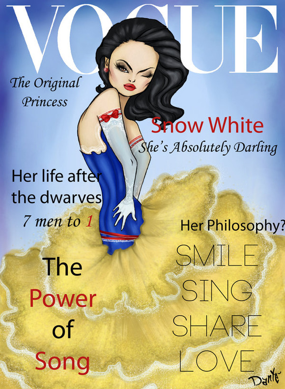 vogue_disney_darlings___snow_white_by_dantetyler-d4qyamp