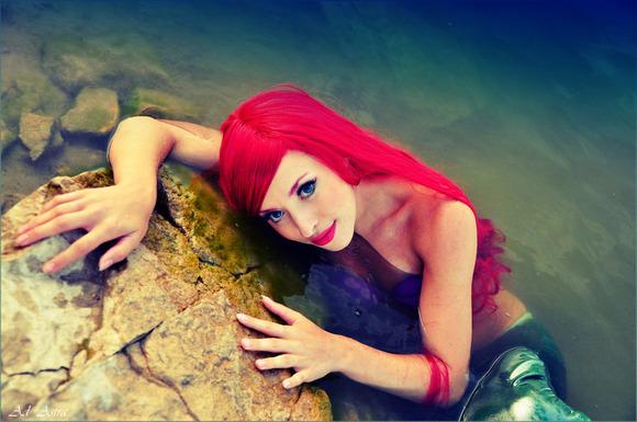 ariel___little_mermaid_disney_by_yana_mio-d4b9iwf