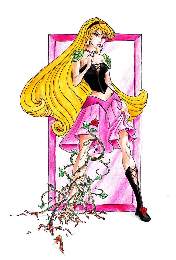 Disney_princesses__Briar_Rose_by_Whynotfly