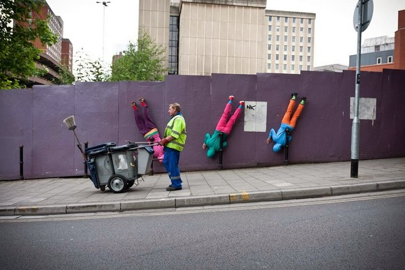 bodies in urban spaces 21