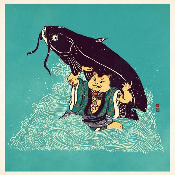 Cat Vs Cat (Fish)