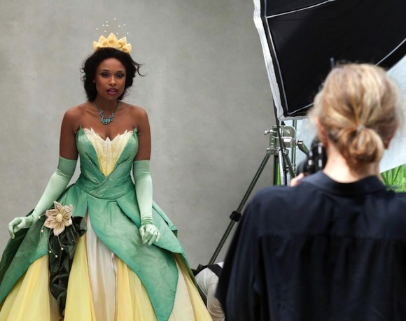 Jennifer Hudson as Tiana from The Princess and the Frog2