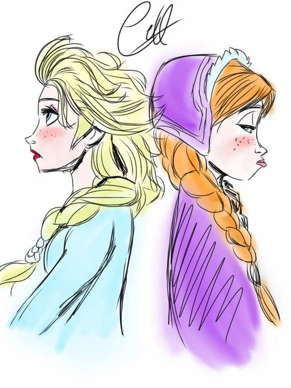 elsa_and_anna_by_angelsxsmile-d7eznnx