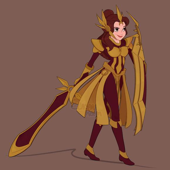 Belle as Leona