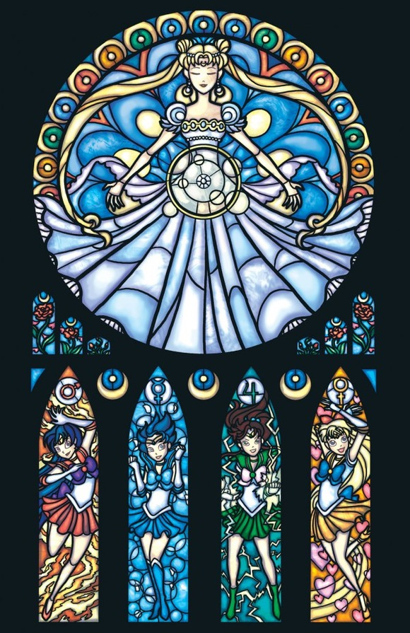 Iconic-Stained-Glass-Sailor-Moon-600x926