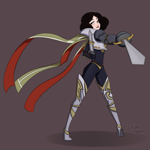 Snow White as Fiora