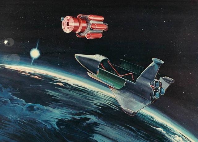 space shuttle concept art 16