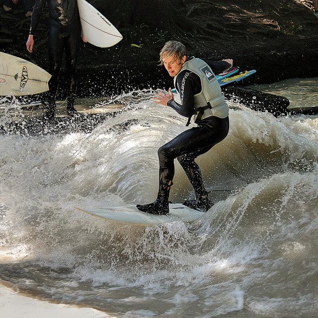 munich eisbach surf surfing 2