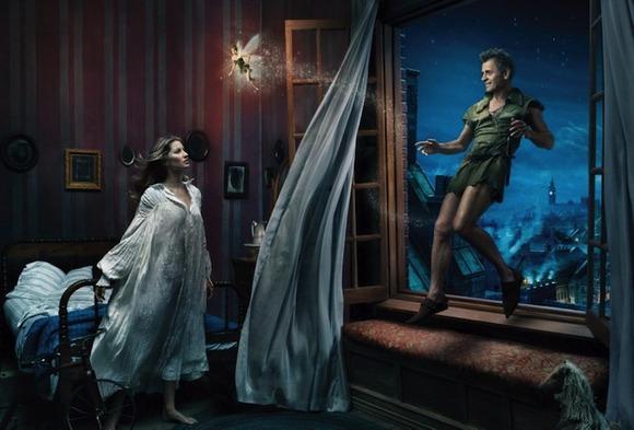 Mikhail Baryshnikov, Gisele Bundchen, and Tina Fey Peter Pan