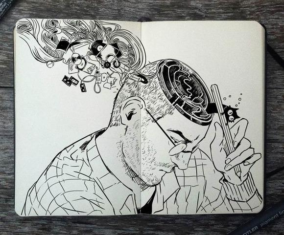 365-Days-Of-Doodles-Gabriel-Picolo-33