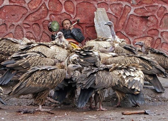 死者の魂を天空へ送るチベットの...