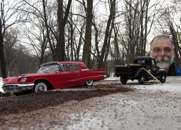 Michael-Paul-Smith-Forced-Perspective-Model-Cars-1-600x431
