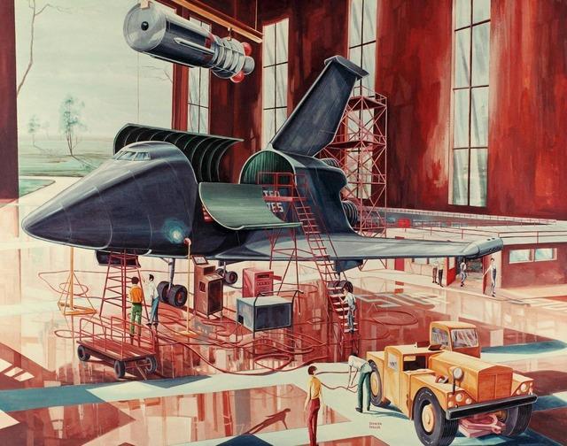 space shuttle concept art 9