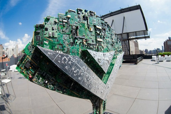 Vizio Sculpture