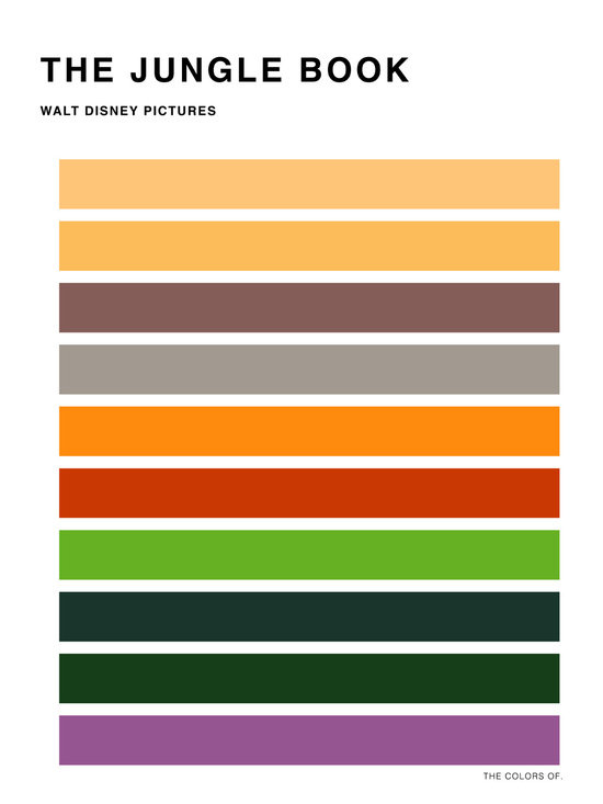 The colors of - The jungle book
