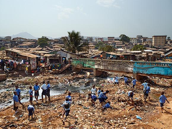 Kroo Bay Primary, Freetown, Sierra Leone