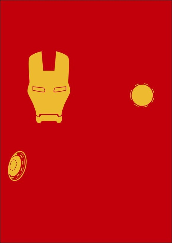 Minimalist-Superheroes-by-Michael-Turner_8