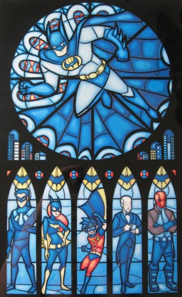 Iconic-Stained-Glass-Batman-600x852