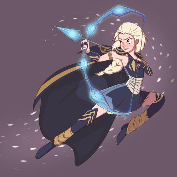 Elsa as Ashe