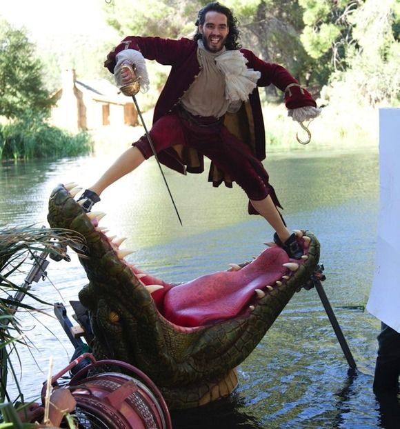 Russell Brand as Captain Hook2