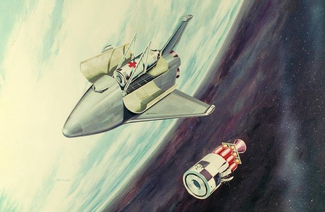 space shuttle concept art 10