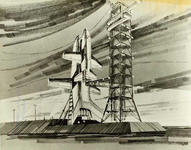 space shuttle concept art 8