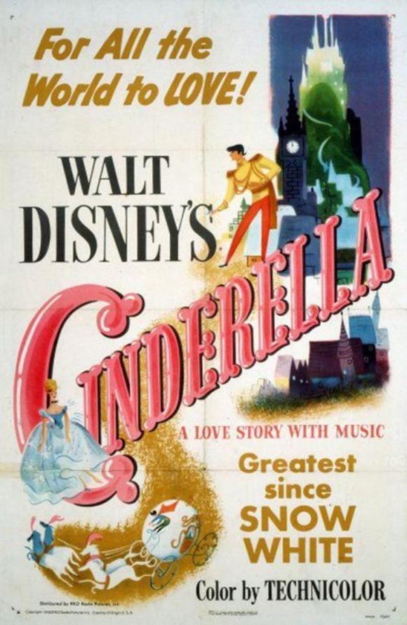 1950-Cinderella-Poster-521x800