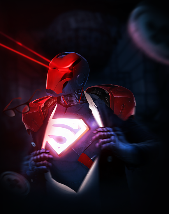 Insane-Iron-Man-mash-up-by-BossLogic-Superman
