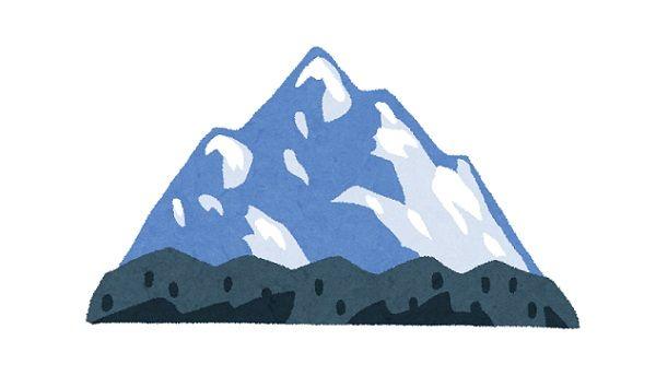 雪山でクレバスに落ちた人の動画が怖すぎる