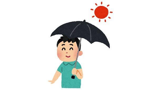 「日傘男子」が流行の兆し