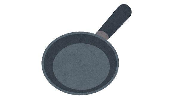 レビュワー「この鉄のフライパンはテフロンと違って肉がくっつくので星1つです」