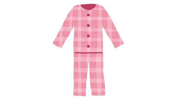 オシャレを拗らせすぎた人が着るパジャマの画像