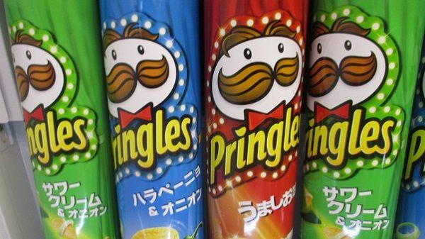 チリでなぜかプリングルズの顔が規制される