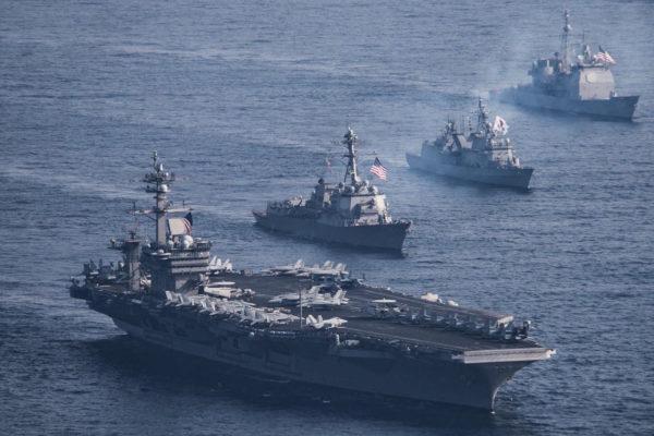 【アメリカ終了】空母、間違えてインド洋に向かっていた 朝鮮半島到着遅れる