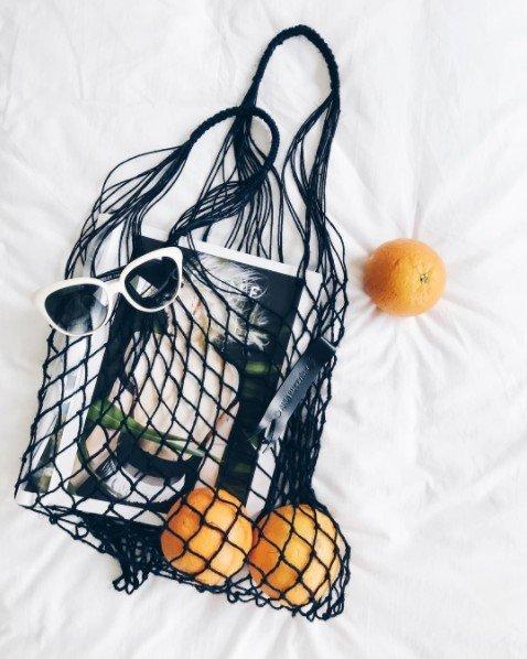 ナイトプール、アイスに続くインスタ蝿の次のブームは「網のバッグ」